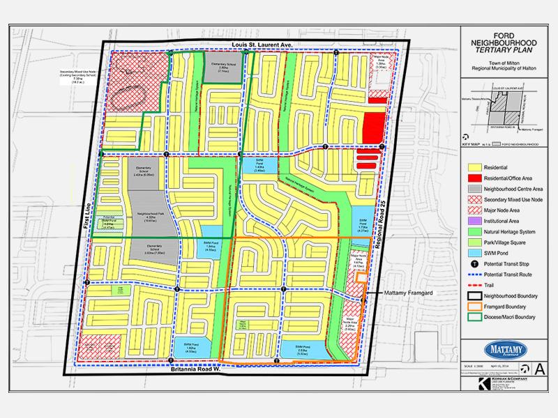 Ford Neighbourhood Plan, Milton, ON