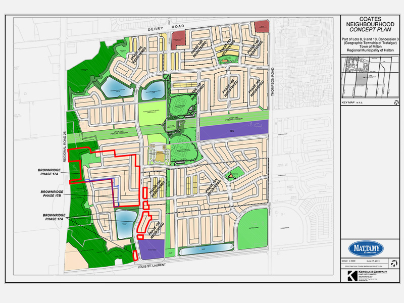 Coates Neighbourhood Plan, Milton, ON