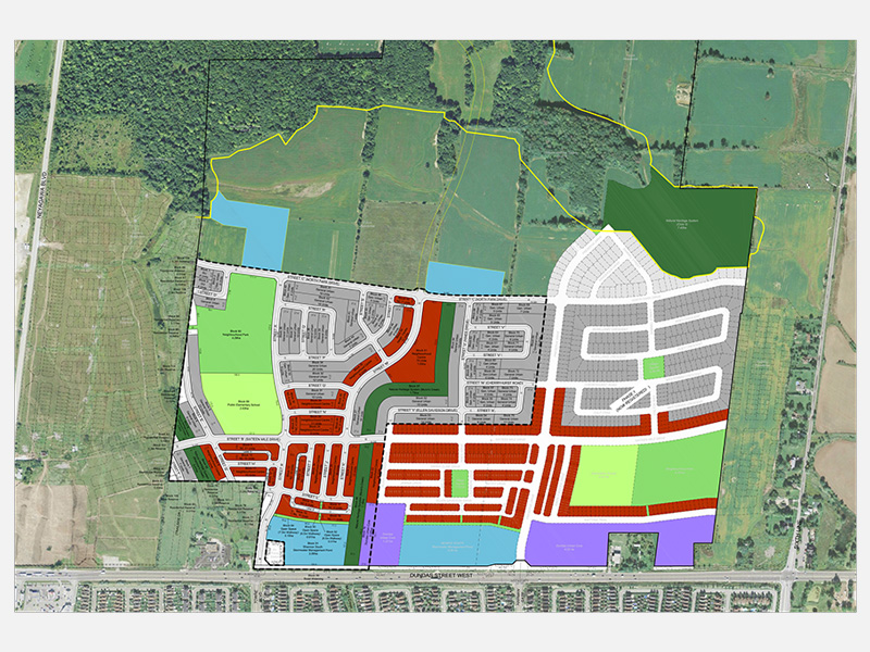 Preserve Draft Plan of Subdivision, Oakville, ON