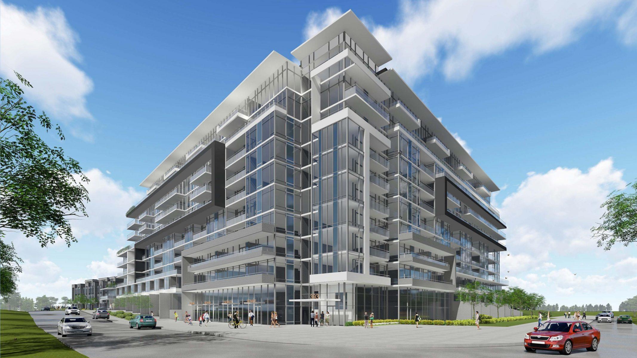 Korsiak Urban Planning - Oakville Portfolio - Dundas Street, Mid-Rise, Mixed-Use Development - Oakville, Ontario