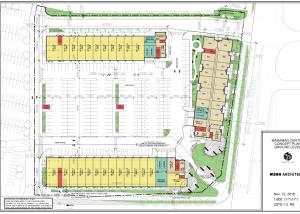 Korsiak Urban Planning - Milton Portfolio - Manaman Centre, Mixed Use, Mid-Rise Development - Milton, Ontario