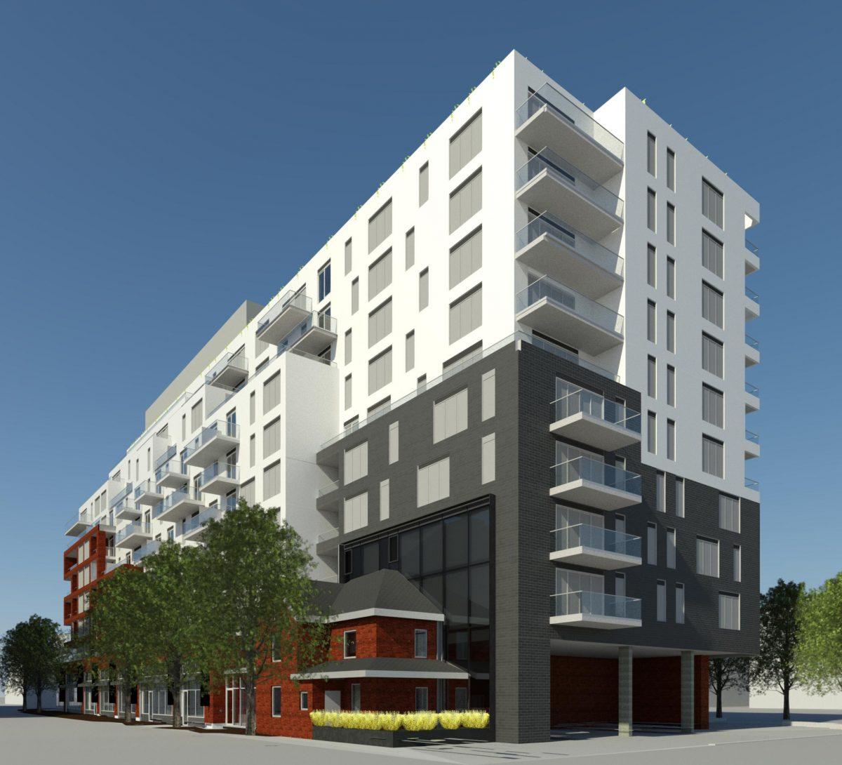 Korsiak Urban Planning - Oakville Portfolio - Old Bronte Road, Mid-Rise, Mixed Use Development - Oakville, Ontario