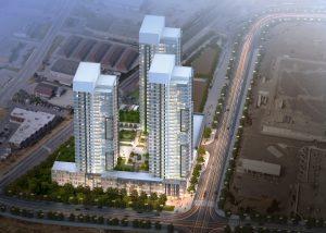 Korsiak Urban Planning - Milton Portfolio - Thompson Road, High-Rise, Mixed Use Development - Milton, Ontario