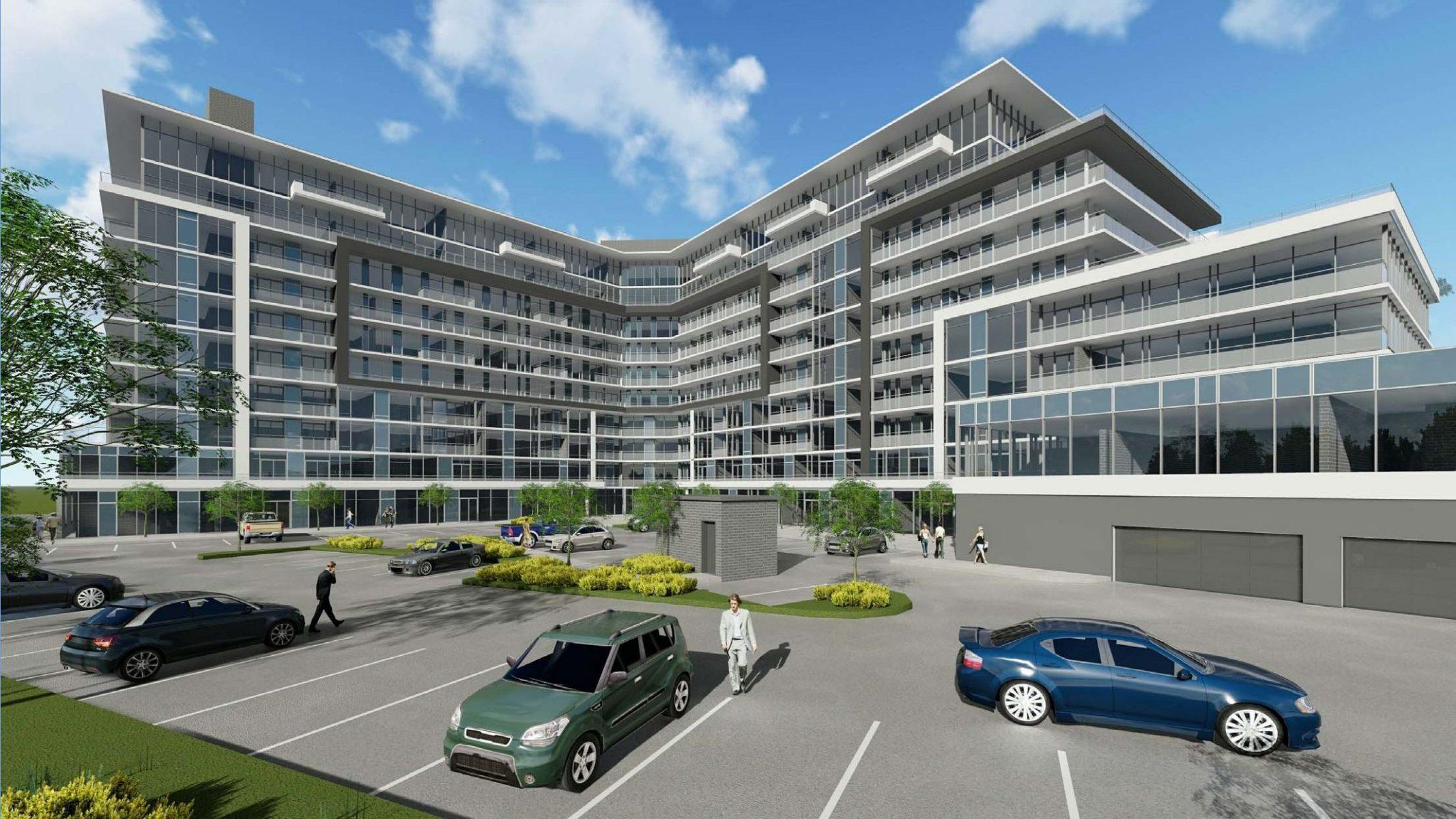 Korsiak Urban Planning - Oakville Portfolio - Dundas Street, Mixed Use, Greenfield, Mid-Rise Development - Oakville, Ontario