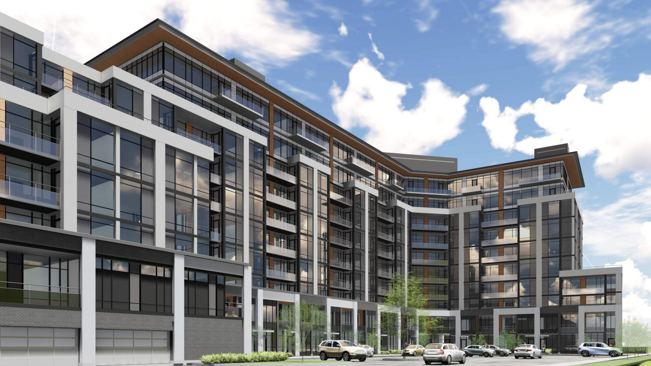 Korsiak Urban Planning - Oakville Portfolio - Mixed Use, Greenfield, Mid-Rise Development - Oakville, Ontario
