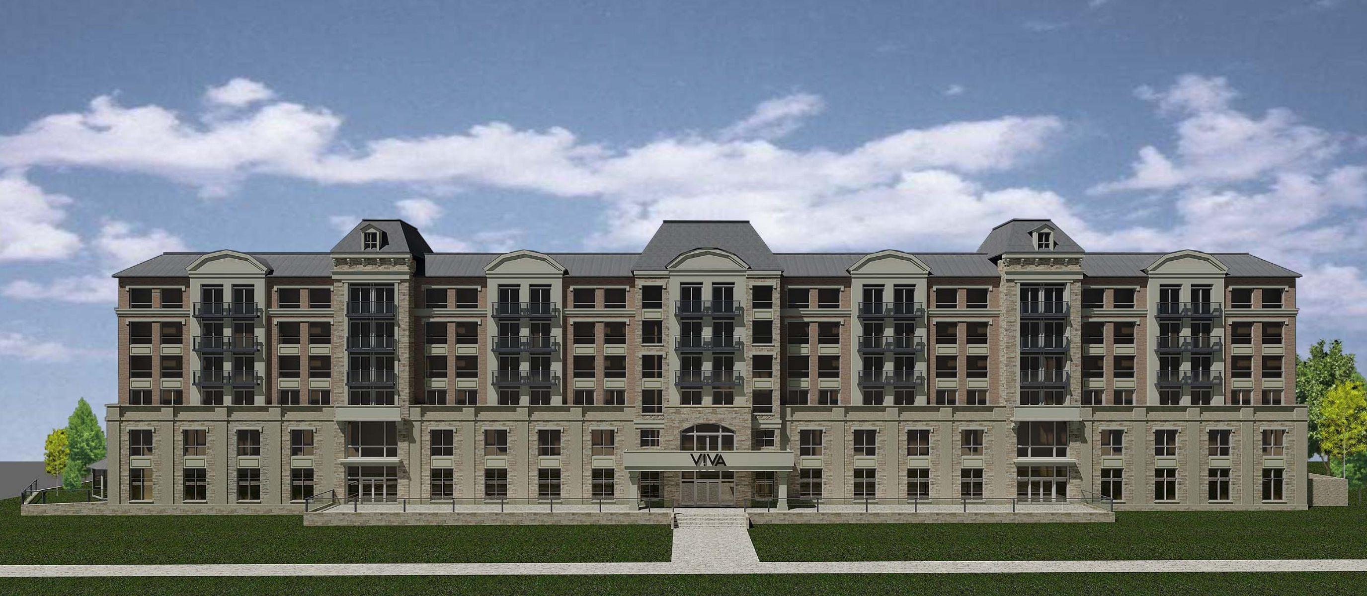 Korsiak Urban Planning - Oakville Portfolio - V!VA Retirement, Greenfield, Mid-Rise Development - Oakville, Ontario