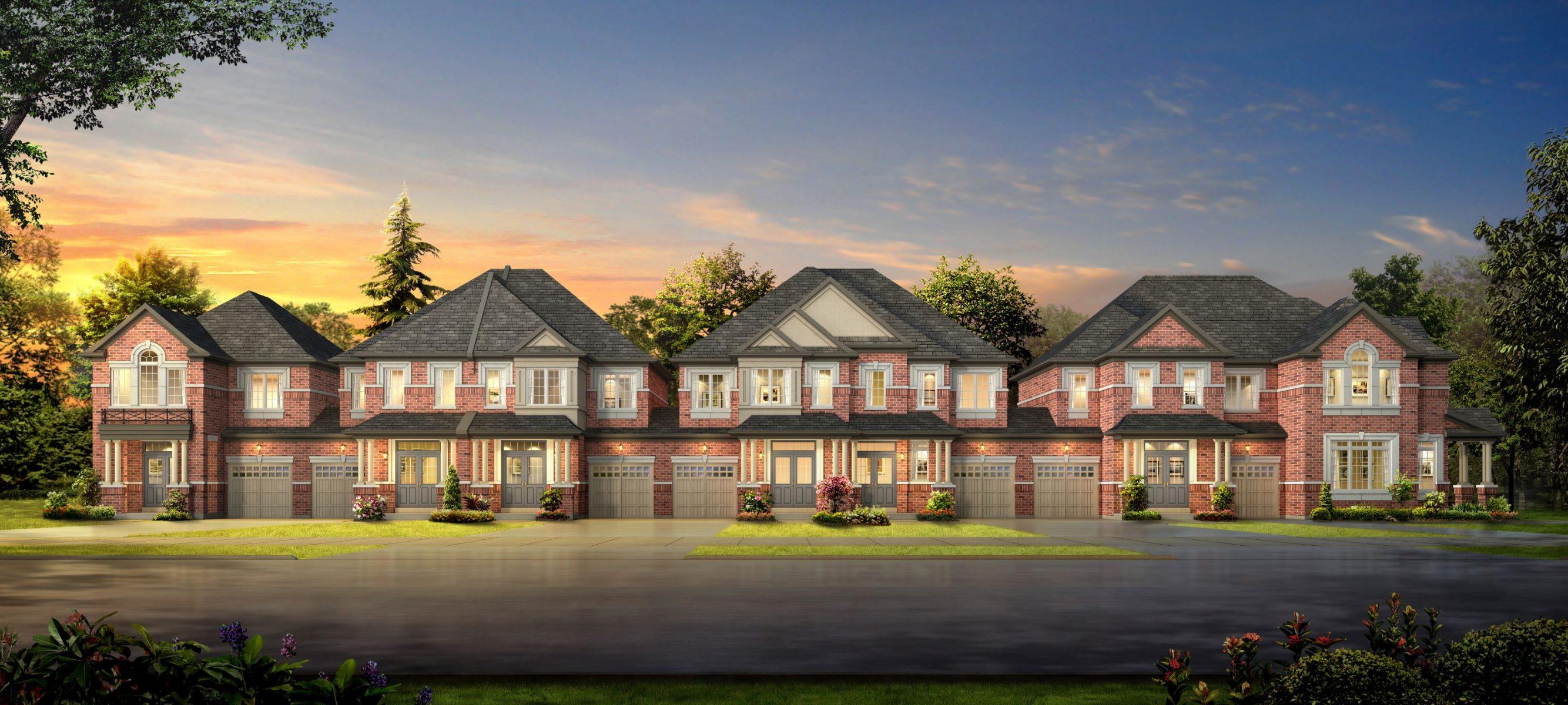 Korsiak Urban Planning - Oakville Portfolio - George Savage Avenue, Infill Development - Oakville, Ontario