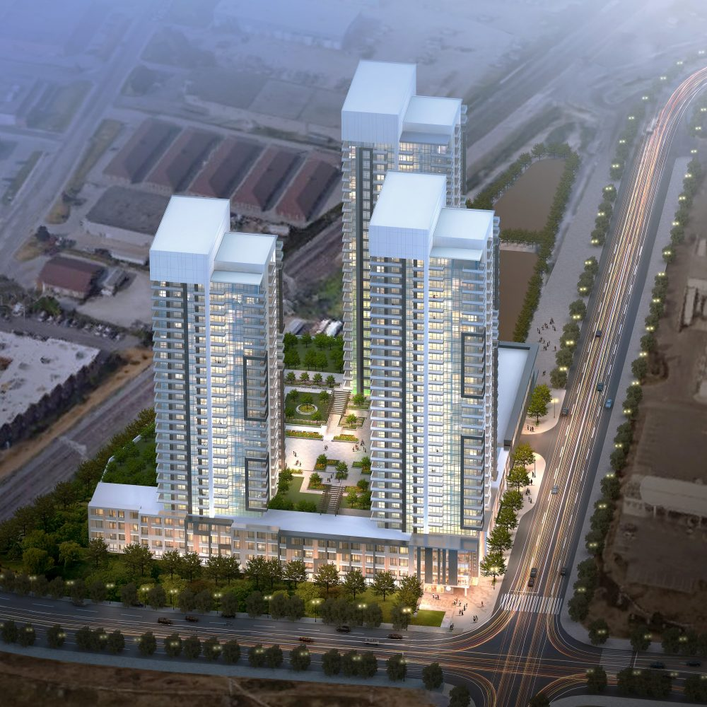 Korsiak Urban Planning - Milton Portfolio - Thompson Road, High-Rise, Mixed Use Development - Milton, Ontario